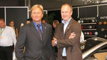 Kleemann CEO Torben Hartvig and Henrik Fisker