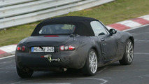 Mazda MX-5 Spy Photo at Nürburgring