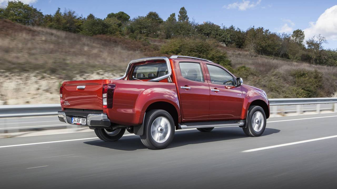 Yeni Isuzu D-Max pick-up