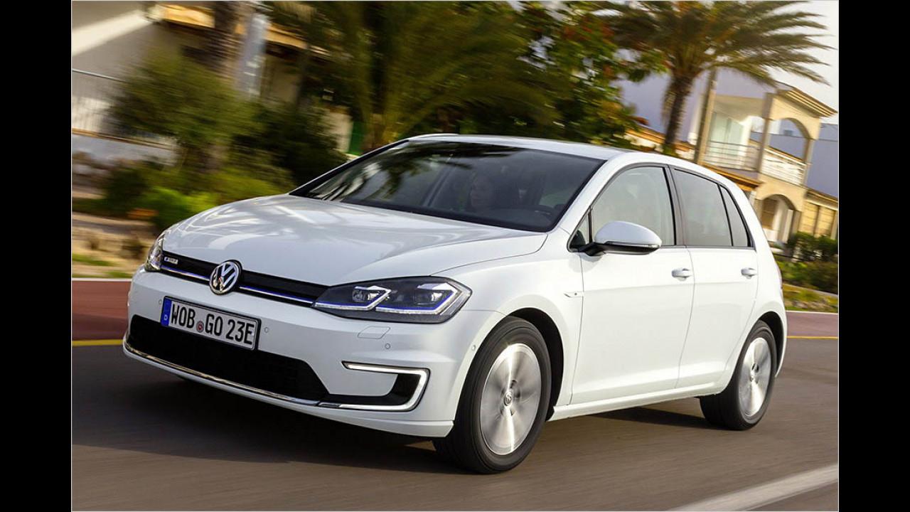 VW e-Golf: 300 km