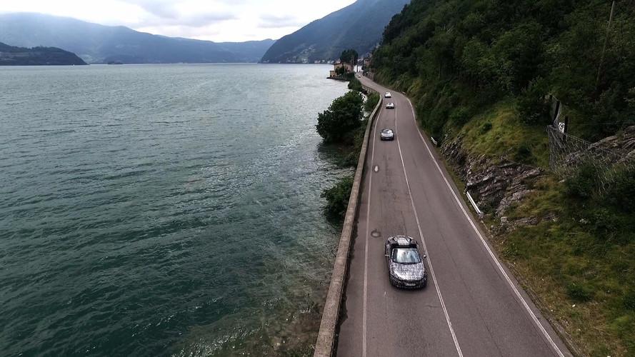BMW i8 Roadster teaser son test aşamasını bildiriyor