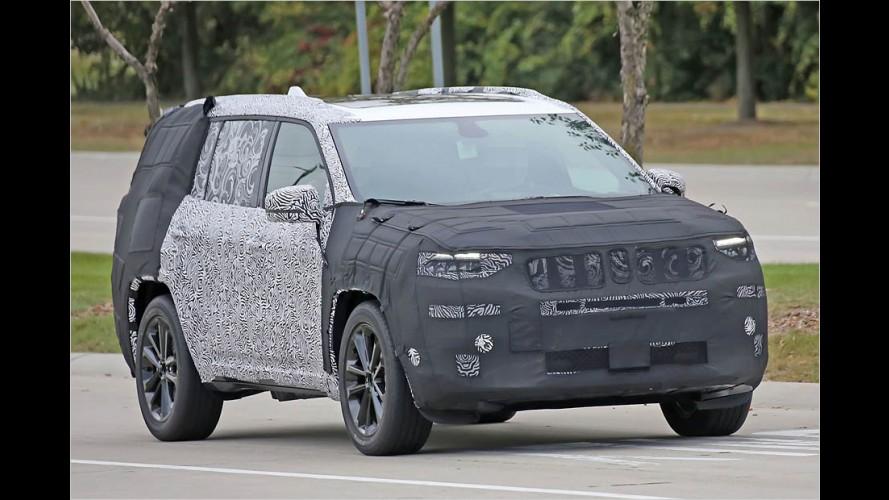 Erlkönig erwischt: Der Jeep Yuntu