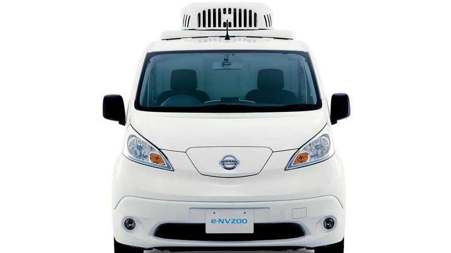 Nissan Paramedic Concept & e-NV200 Fridge Concept