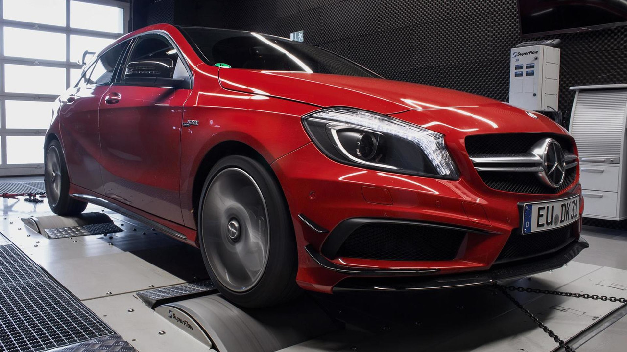 Mercedes-Benz A45 AMG by mcchip-dkr