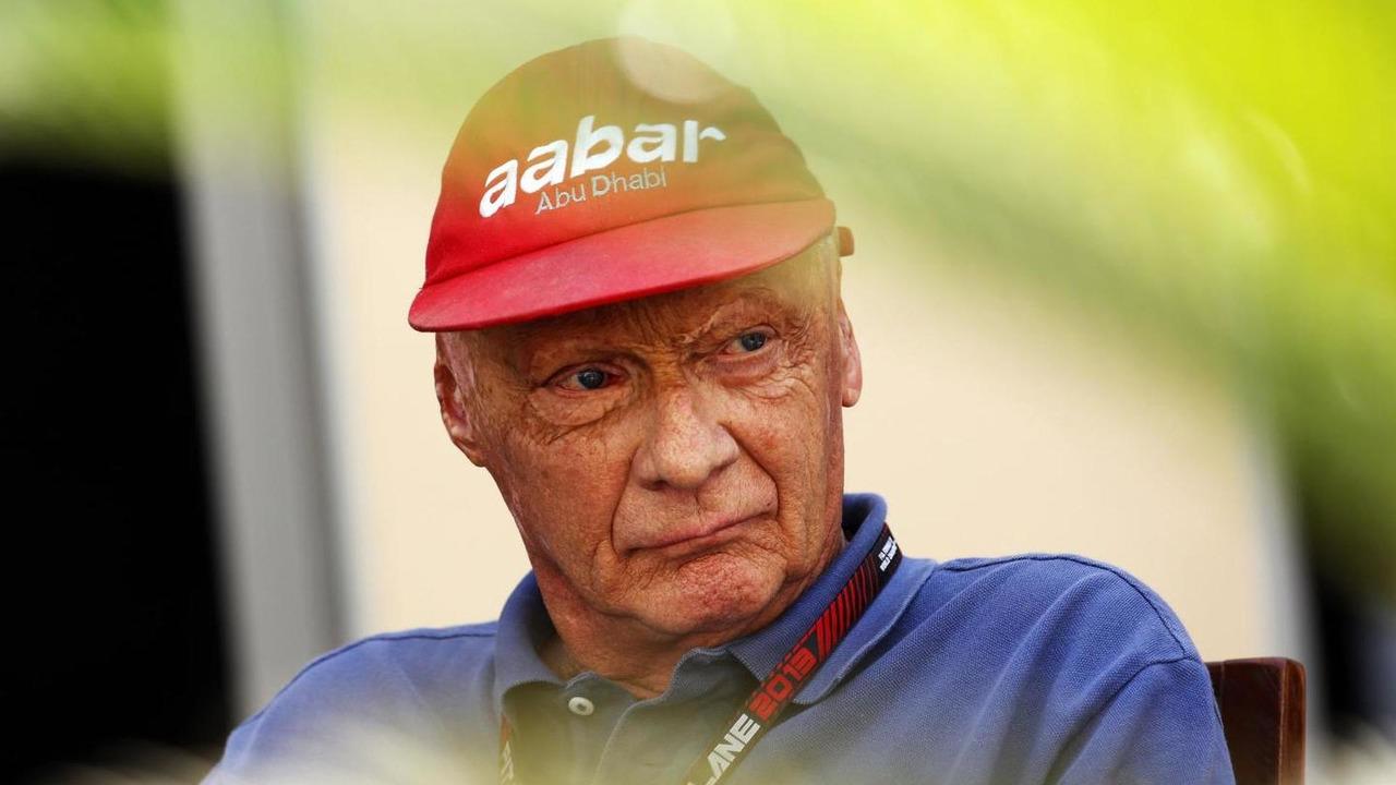 Niki Lauda 01.11.2013 Abu Dhabi Grand Prix