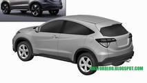 Honda Urban SUV production version revealed via leaked patent photos