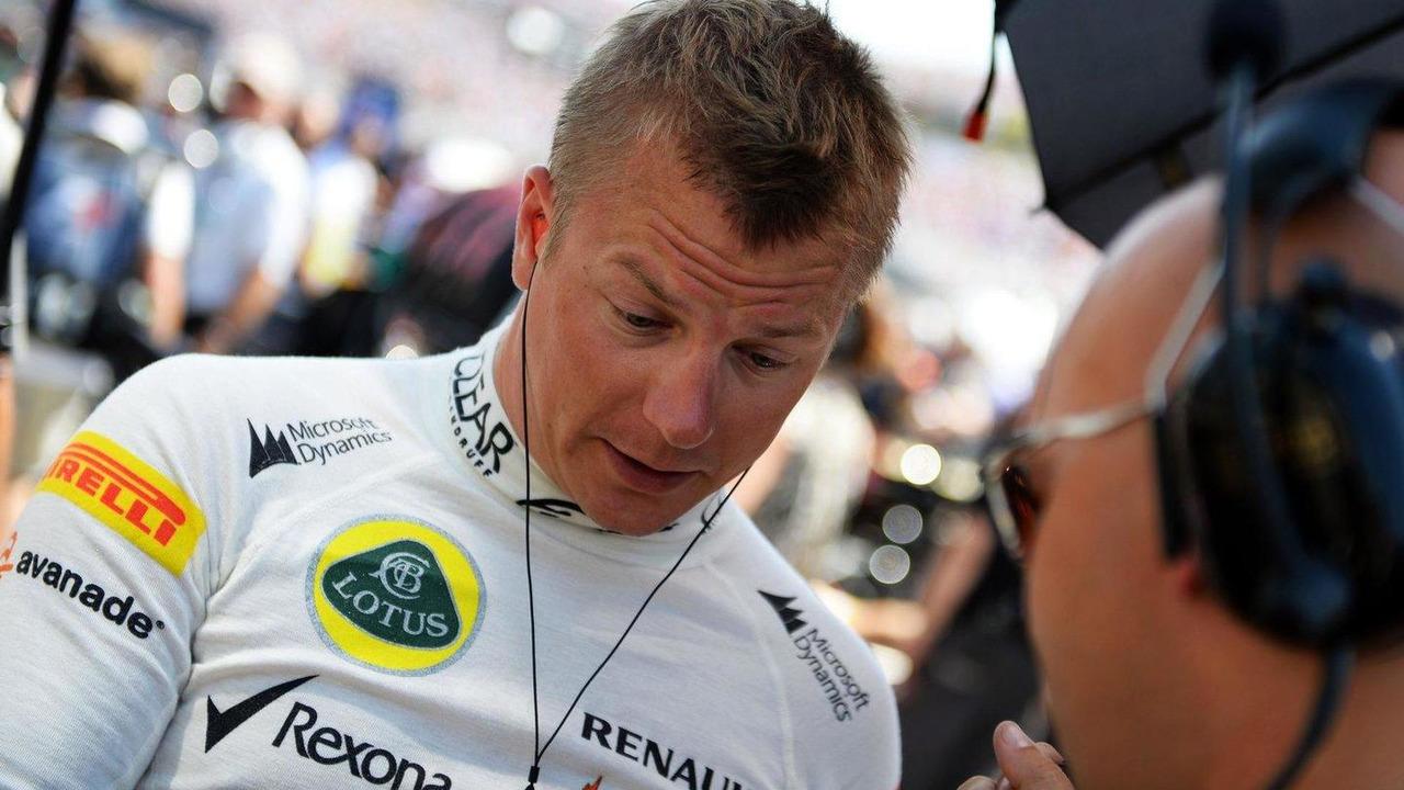 Kimi Raikkonen 28.07.2013 Hungarian Grand Prix