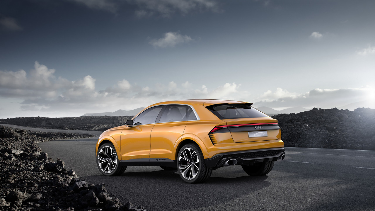 2017 audi q8 sport concept photos. Black Bedroom Furniture Sets. Home Design Ideas