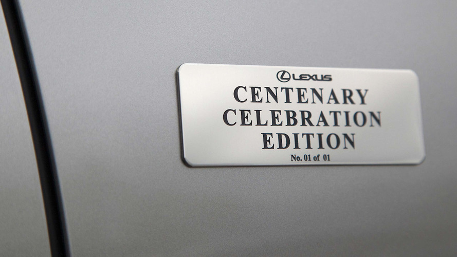 Lexus LS 600h L Centenary Edition