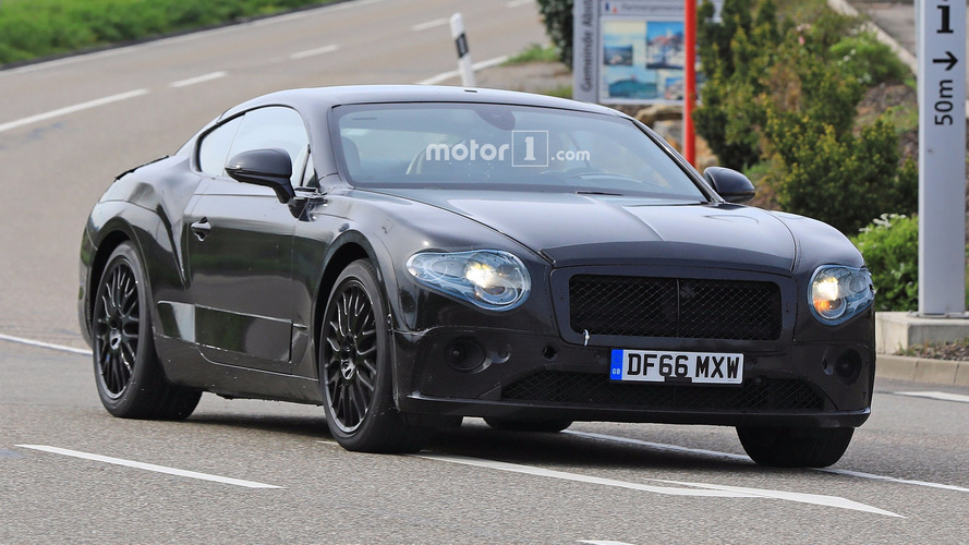 2018 Bentley Continental GT new spy shots