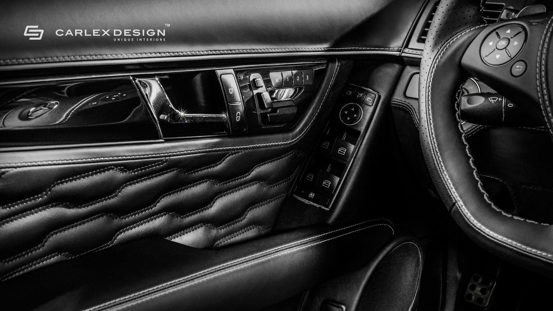 Mercedes C63 AMG Interior Was Not Good Enough For Carlex Design
