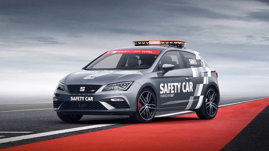 El SEAT León CUPRA, nuevo Safety Car del WorldSBK