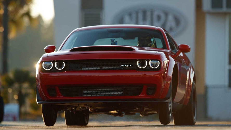 Dodge Demon Pulls More G's Than A Bugatti Veyron At Launch