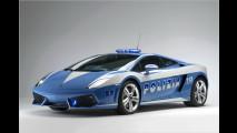 Ein Lambo für die Polizia