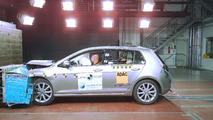 Crash test Volkswagen Golf brasileiro