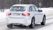 2020 Mercedes EQ electric crossover spy photo