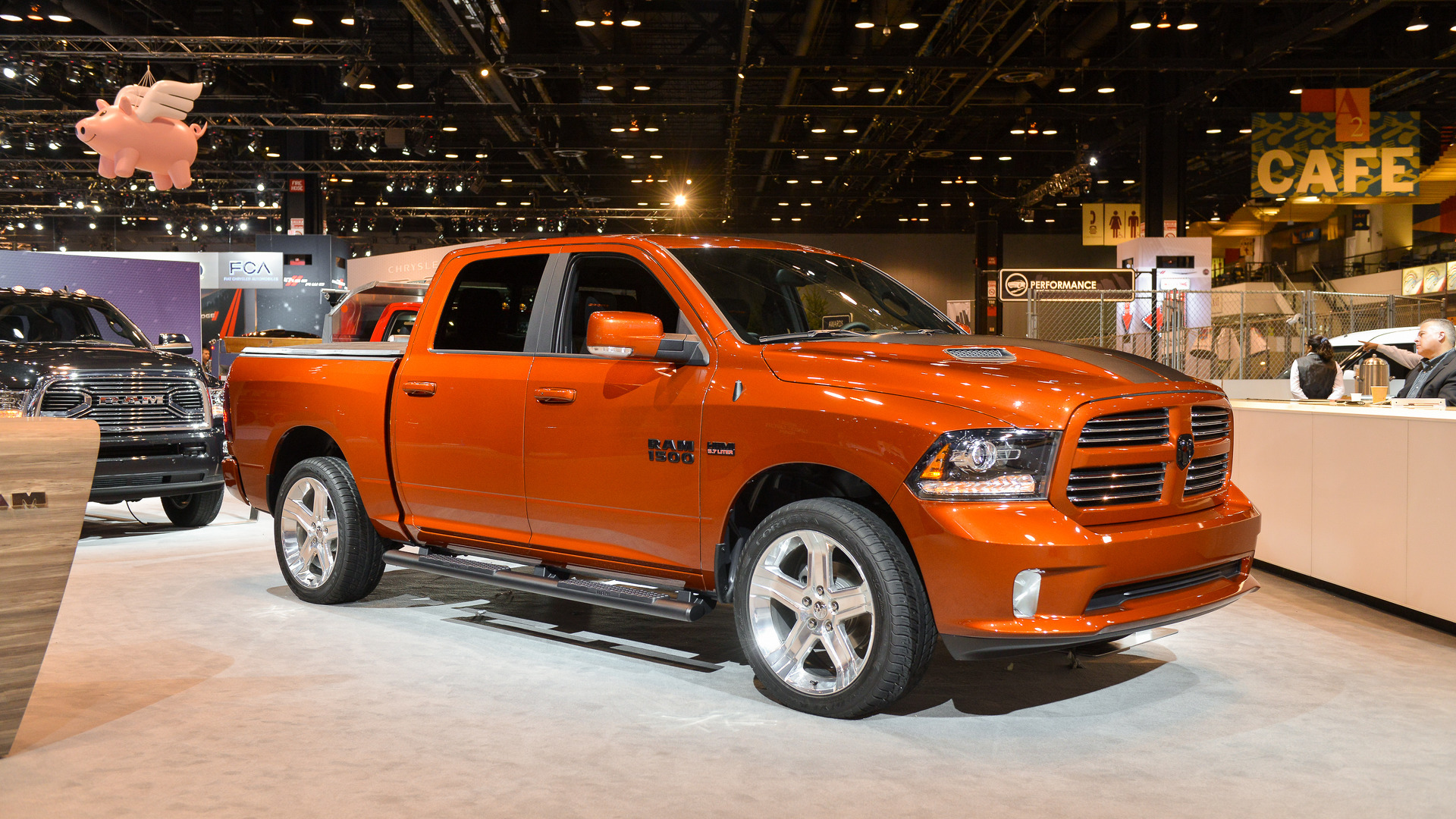 Ram S Colorful 1500 Copper Sport Highlights Stylish