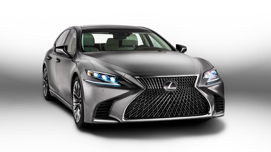 Détroit 2017 - Lexus dévoile la toute nouvelle LS