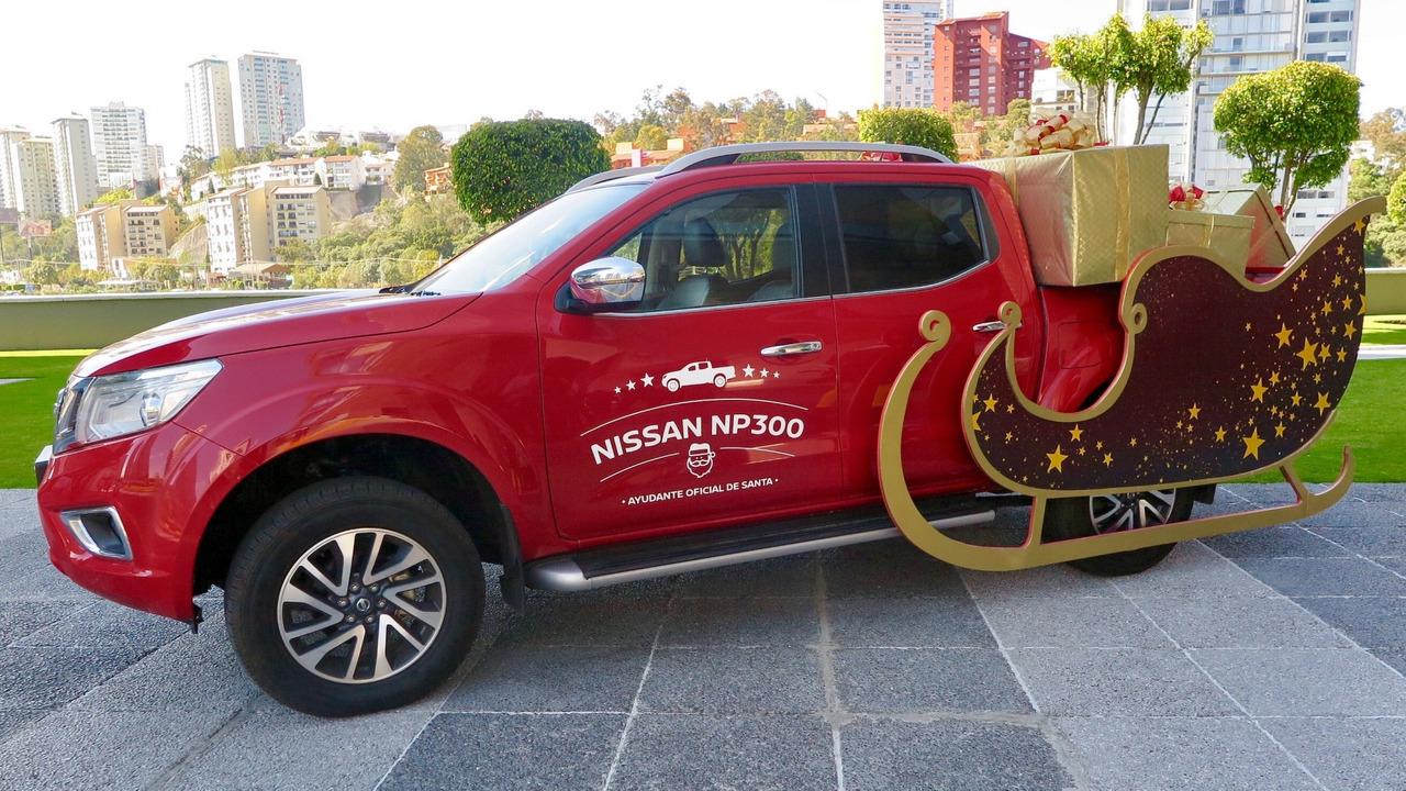 Nissan Frontier Papai Noel