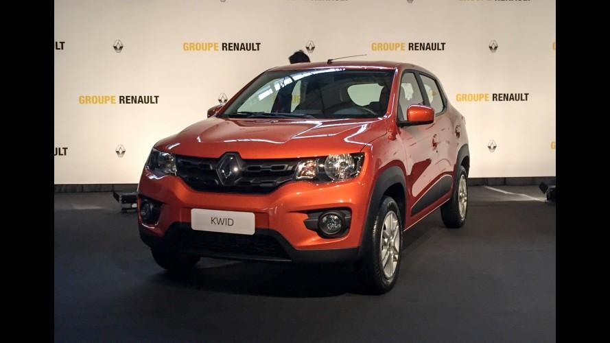 Kwid estreia novo motor 1.0 3-cilindros da Renault que chegará ao Brasil