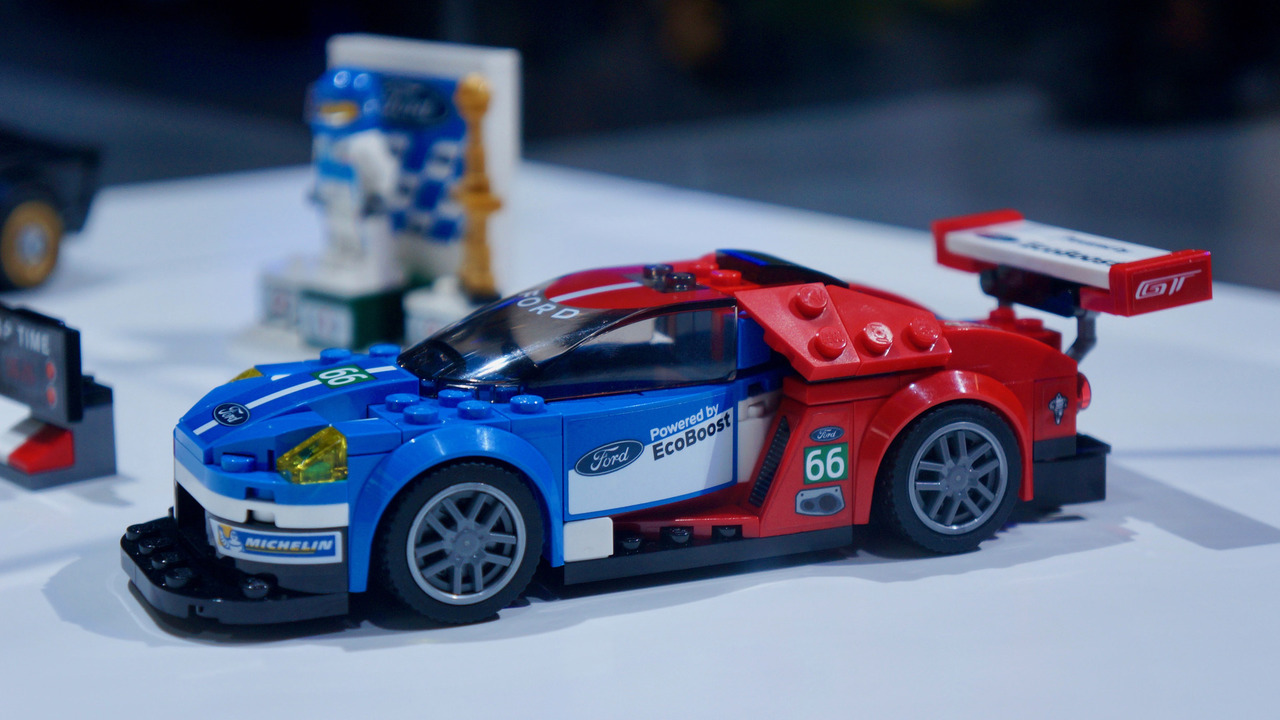 lego 39 s ford gt speed champions kit is already a winner. Black Bedroom Furniture Sets. Home Design Ideas