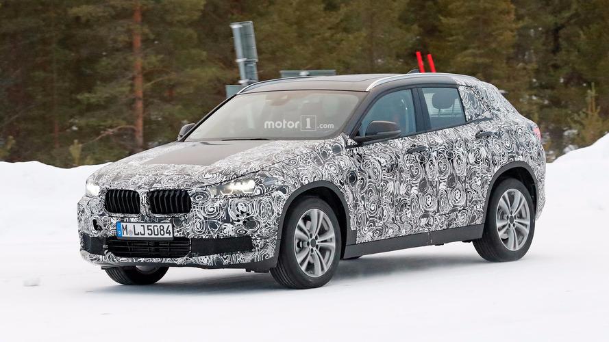 Kış testi sırası BMW X2'de