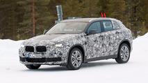 BMW X2 Spy Photos Winter