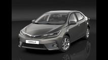 Toyota atualiza Corolla para a linha 2017 e antecipa mudança da versão nacional