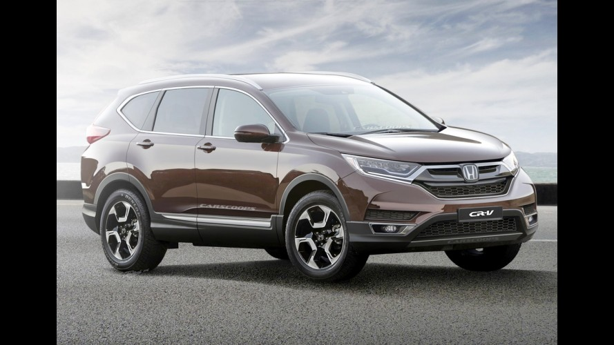 Honda CR-V 2018 terá versão esportiva com motor 2.0 turbo do Civic Type R