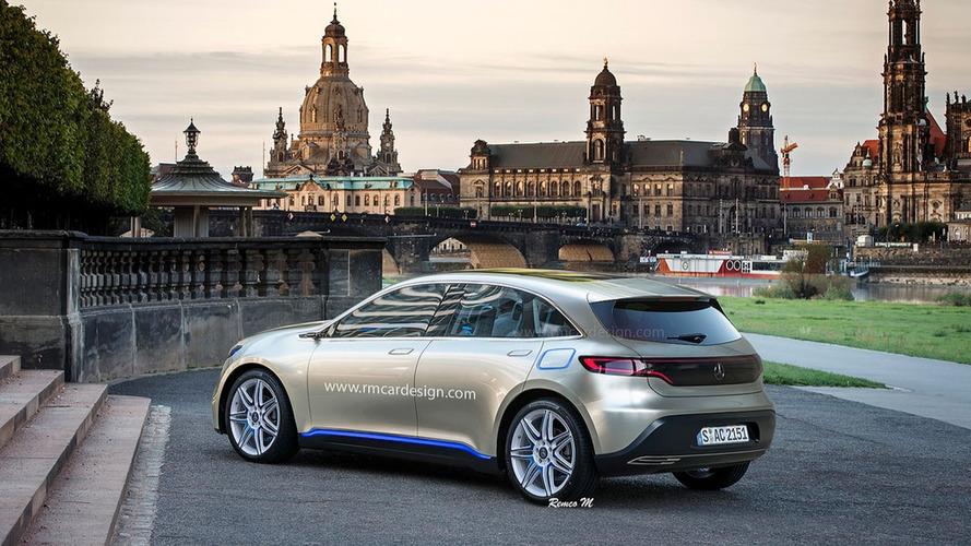 Generation EQ A - Et si la première voiture électrique de Mercedes ressemblait à ça ?