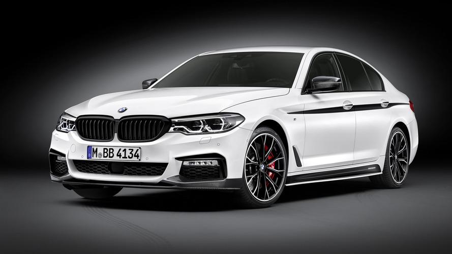 La BMW Série 5 s'énerve avec de nouveaux accessoires M