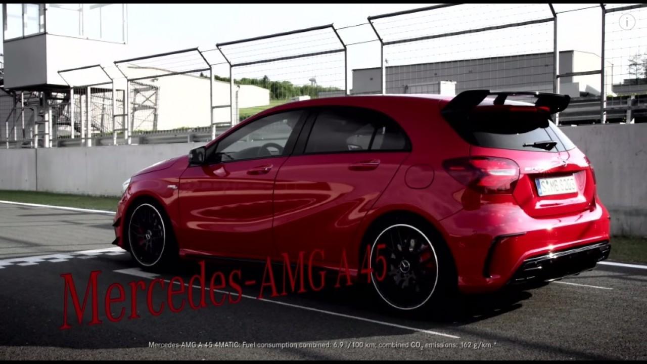 Veja o novo Mercedes A 45 AMG de 381 cv em ação - vídeo
