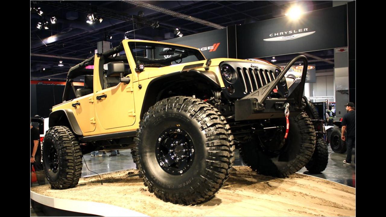 Jeep Wrangler Sand Trooper