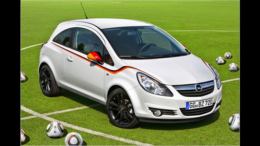 Fußball-WM 2010: Opel Corsa für deutsche Fans