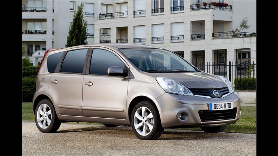 Nissan Note i-Way: Neues Sondermodell findet den Weg