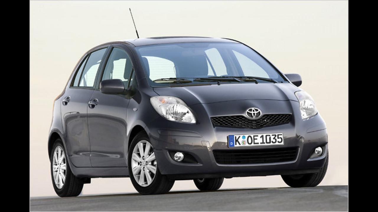 Kleinwagen, 2. Platz: Toyota Yaris