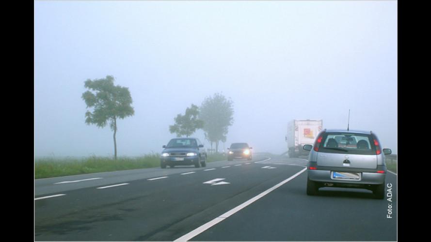 Herbstliche Tücken für Autofahrer