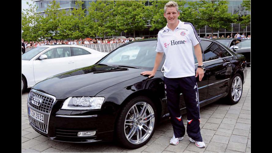 Audi bleibt am Ball: Neue Dienstwagen für die Bayern-Kicker