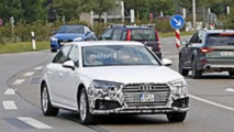 2019 Audi A4 Long Wheelbase facelift spy photos