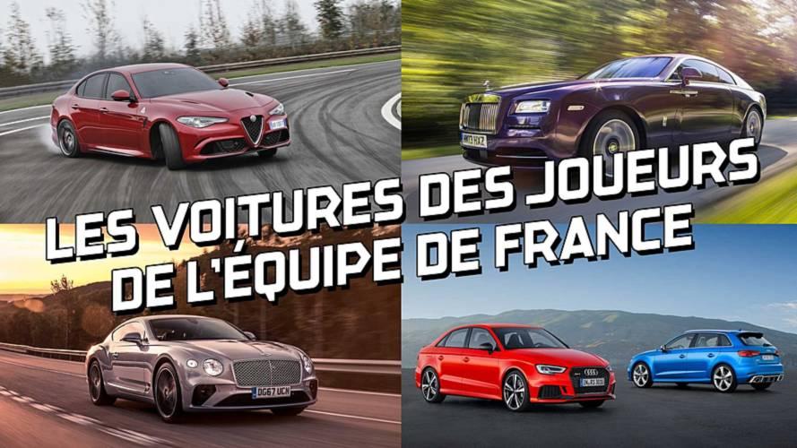 DIAPORAMA - Les voitures des footballeurs de l'équipe de France
