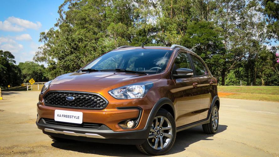 Ford inicia pré-venda de Ka FreeStyle com revisões grátis