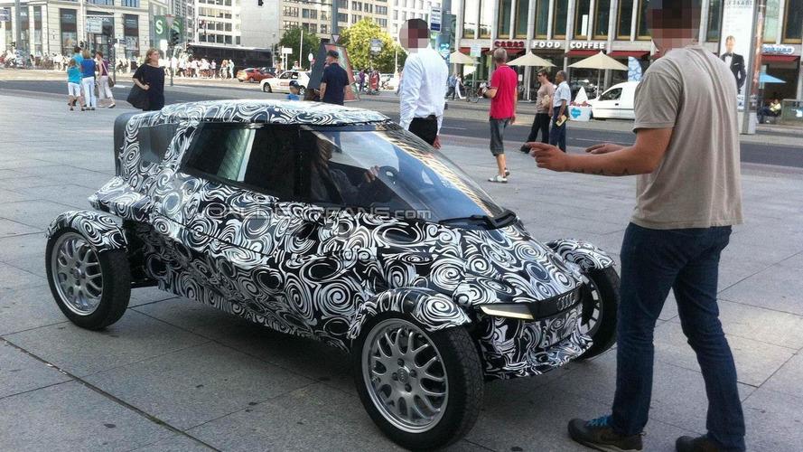 Audi City E-tron Concept spied in Berlin