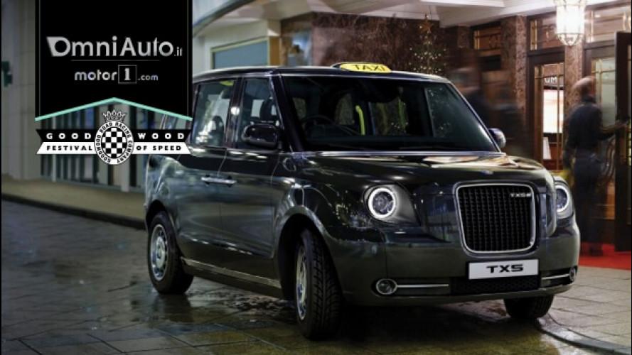 Goodwood, sulla Hill Climb anche il nuovo taxi di Londra