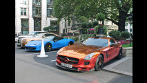 Car-watching: supercars a Londra