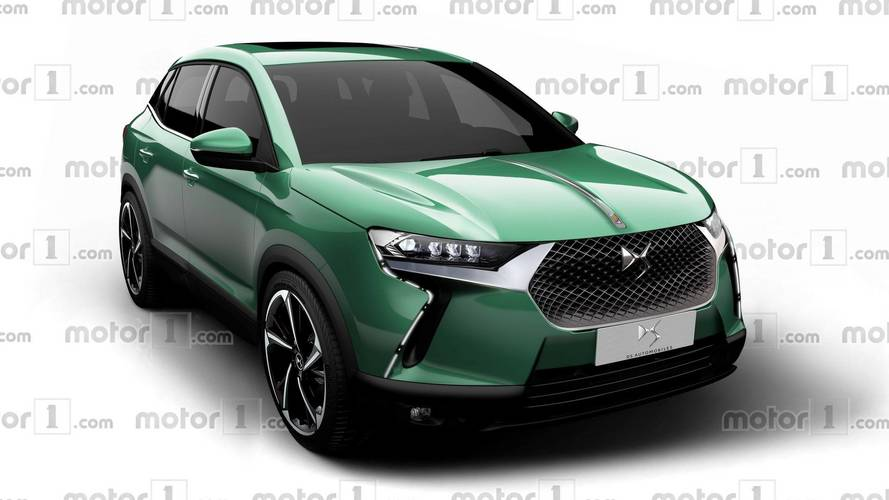 DS3 Crossback Rendered To Take On The Audi Q2