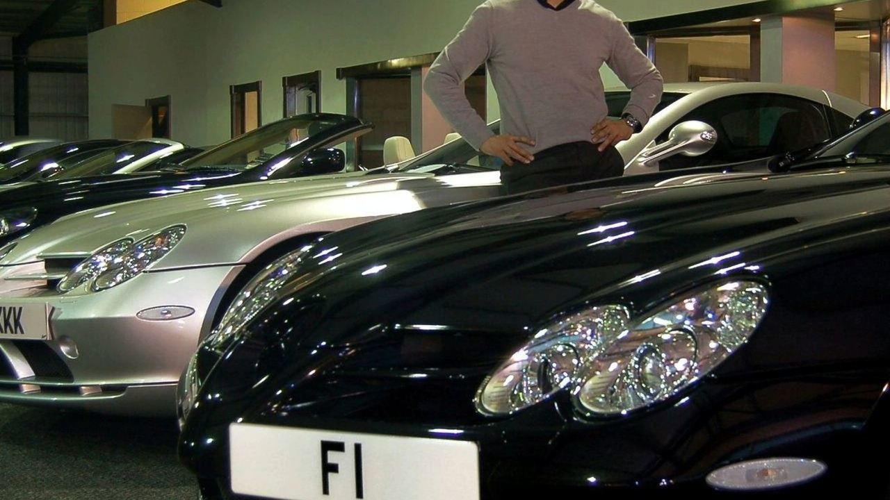 Afzal Kahn from Project Kahn with F1 license plate