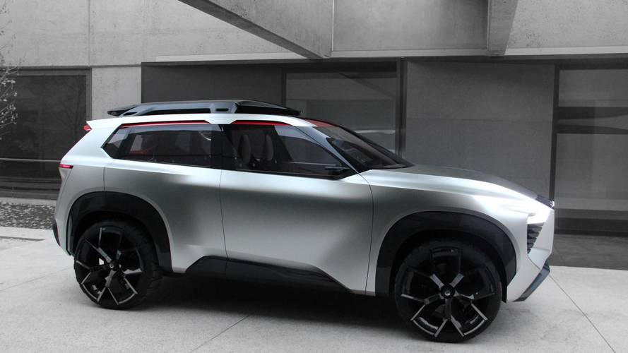 Nissan Xmotion Concept Smoothly Blends Sleek Lines, Rugged ...