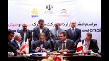 PSA firma l'accordo con SAIPA