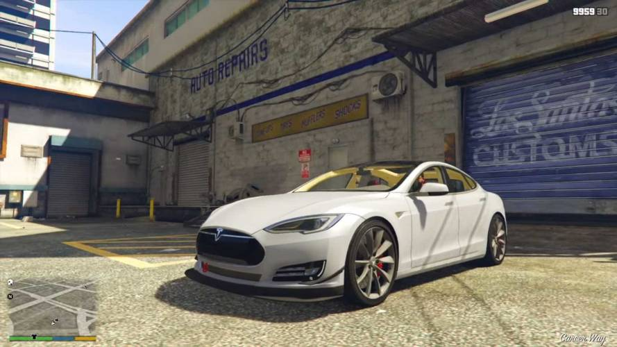 Check Out Tesla Roadster, Semi, Model S And More In GTA V