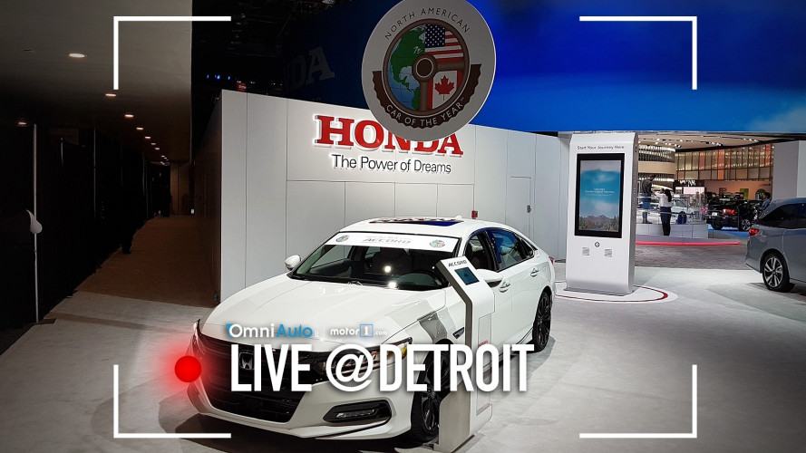 Honda Accord, ovvero l'auto dell'anno 2018 in America